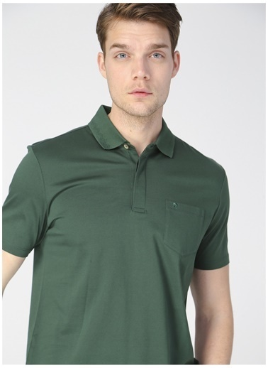 Pierre Cardin Pierre Cardin Erkek Yeşil Polo Yaka T-Shirt Yeşil